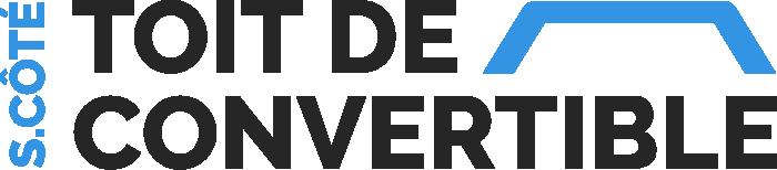 Logo S.Coté toit de convertible