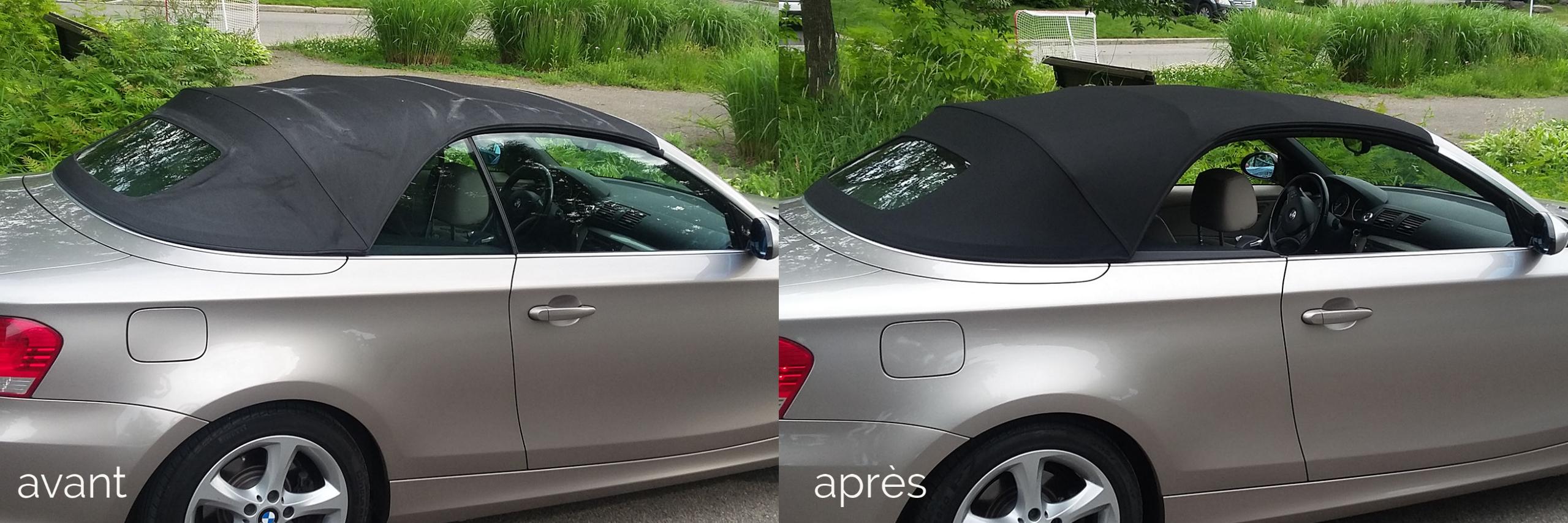 BMW toit convertible