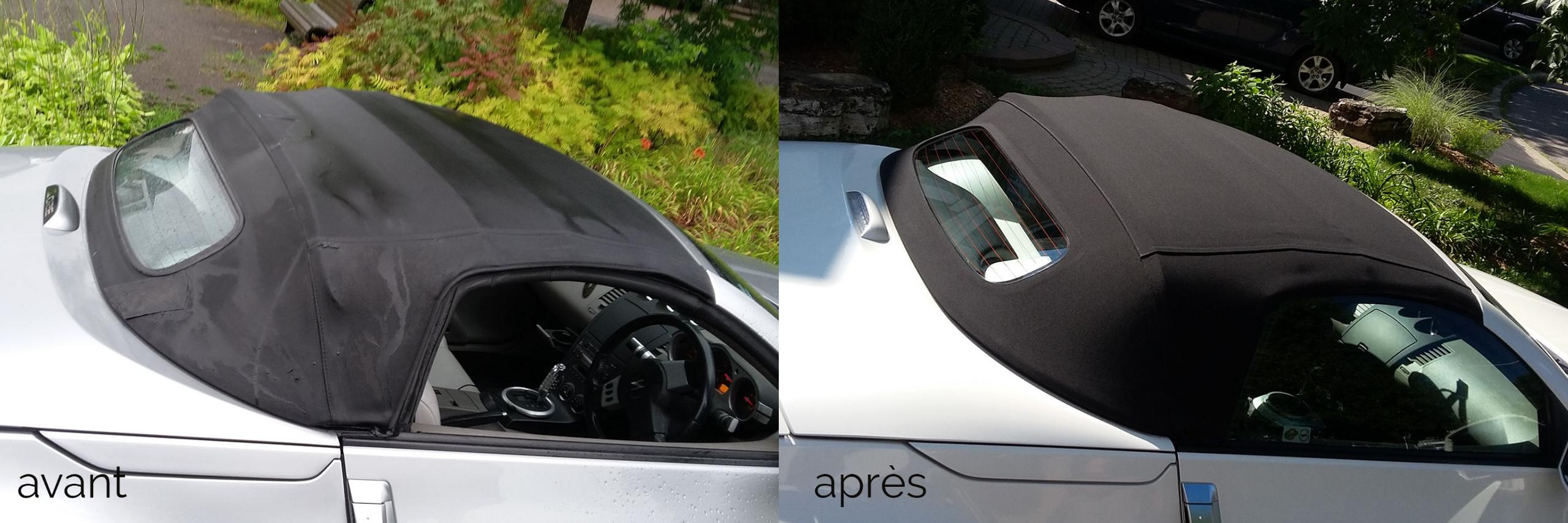 Miata grise toit convertible